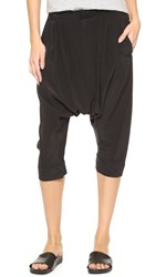 Superfine Freedom Cropped Pants Black