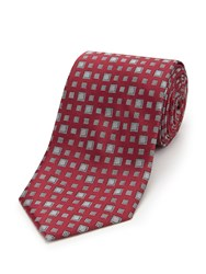 Skopes Fancy Polyester Tie Red