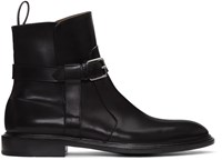 Givenchy Black K Line Buckle Boots