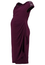Mama Licious Mldipsy Jersey Dress Potent Purple Dark Purple