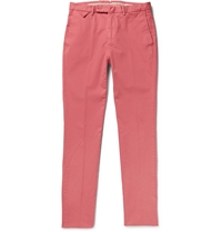 Hackett Stretch Cotton Twill Trousers Pink