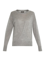 Isabel Marant Ben Cashmere And Silk Blend Sweater
