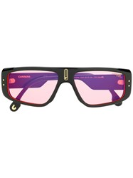 Carrera Rectangular Frame Sunglasses Black