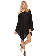 Echo Everyday Luxe Poncho Topper Black Women's Clothing