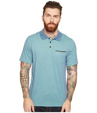 Hurley Dri Fit Lagos Polo Ocean Fog Men's Clothing Gray