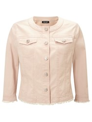 Gerry Weber Denim Jacket Powder Pink