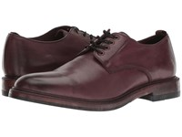 Frye Murray Oxford Oxblood Washed Dip Dye Leather Shoes Burgundy