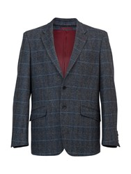 Raging Bull Men's Herringbone Blazer Grey
