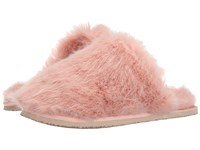 Ted Baker Breae Light Pink Faux Fur Women's Slippers
