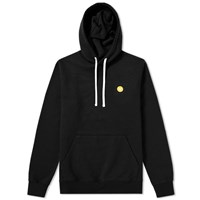 Wood Wood Ian Hoody Black