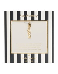 Kate Spade How Charming Mrs Charm Gold