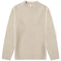 Dries Van Noten Brushed Merino Crew Knit White