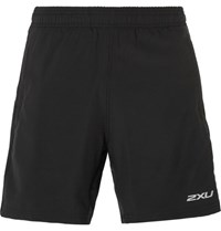 2Xu Pace 2 In 1 Shell Running Shorts Black