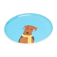 Joules Barking Side Plate Airedale
