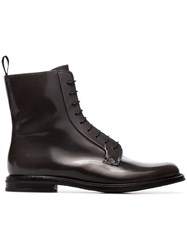 Church's Alexandra Lace Up Ankle Boots Black
