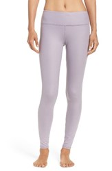 Alo Yoga Women's Airbrushed Glossy Leggings Twilight Glossy