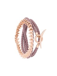 Shaun Leane Serpent And Signature Tusk Bracelet Set Pink