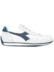 Diadora Lace Up Trainers White