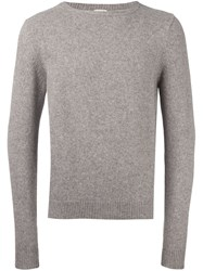 Massimo Alba Classic Jumper Brown