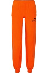 Brian Lichtenberg Homies Cotton Jersey Track Pants Orange