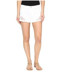 Joe's Jeans Cut Off Shorts In Lemley Lemley Women's Shorts White