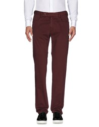 Roy Rogers Roger's Casual Pants Maroon