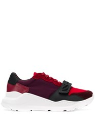 Burberry Regis Sneakers Red