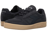 Diadora B.Elite Suede Navy Tuareg Athletic Shoes Black