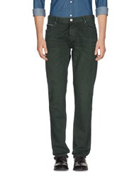 Care Label Trousers Casual Trousers Dark Green