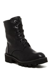 Rebels Dixon Lace Up Lug Boot Black