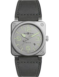 Bell And Ross Horolum Watch Stainless Steel Watch
