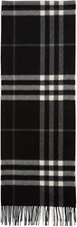 Burberry Black Check Giant Icon Scarf