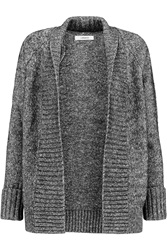 J Brand Ivanka Cotton And Wool Blend Cardigan