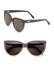 Prism Moscow 53Mm Cat's Eye Sunglasses Black Ombre