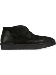 Marsell Marsell Laceless Desert Boots Black
