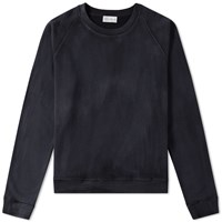 Faith Connexion Washed Crew Sweat Black
