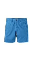 Norse Projects Aros Light Twill Shorts California Blue