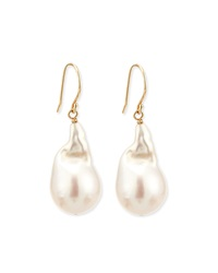 Freshwater Baroque Pearl Drop Earrings Linda Bergman