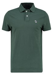 Abercrombie And Fitch Muscle Fit Polo Shirt Oliv