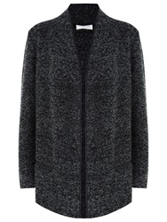 Windsmoor Knitted Open Front Jacket Dark Grey