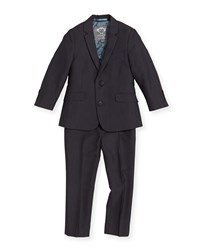 Appaman Boys' Two Piece Mod Suit Vintage Black 2T 14 Boy's