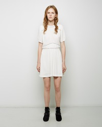 Isabel Marant Wana Georgette Dress Ecru