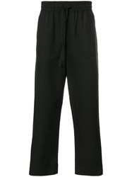 Damir Doma Side Stripe Track Pants Black