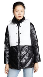 Add Down Jacket With Detachable Hooded Vest Black Wind