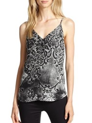 Rory Beca Otis Lace Print Camisole Tank Lacey