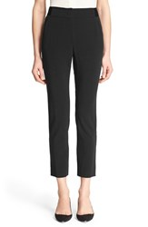 Women's Armani Collezioni Straight Leg Stretch Wool Ankle Pants