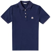 Moncler Classic Polo Blue