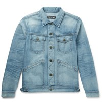 Tom Ford Selvedge Denim Jacket Blue