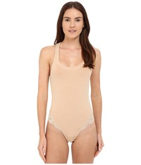 La Perla Souple Bodysuit Nude Women's Jumpsuit And Rompers One Piece Beige