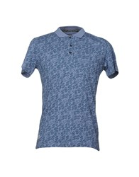 Andy Warhol By Pepe Jeans Polo Shirts Blue